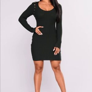 Fashionnova sweater bodycon dress